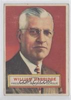 William Harridge (white back)
