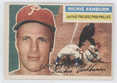 1956 Topps #120 - Richie Ashburn