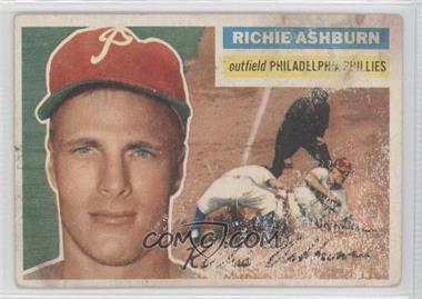 1956 Topps #120.1 - Richie Ashburn (Gray Back)