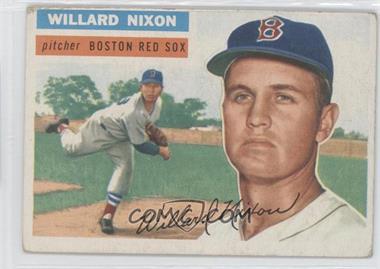1956 Topps #122 - Willard Nixon