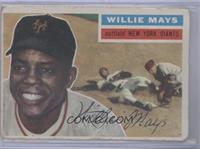 Willie Mays (White Back) [Poor]