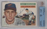 Ray Narleski (Gray Back) [BVG/JSA Certified Auto]
