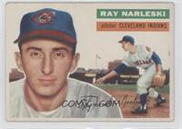 Ray Narleski (white back)