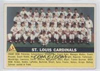 St. Louis Cardinals Team (Gray Back)