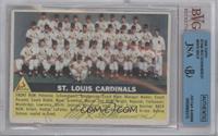St. Louis Cardinals Team (grey back) [BVG/JSACertifiedAuto]