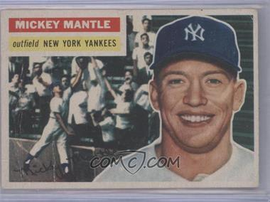 1956 Topps #135 - Mickey Mantle [Poor to Fair]
