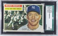Mickey Mantle (Gray Back) [SGC AUTHENTIC]