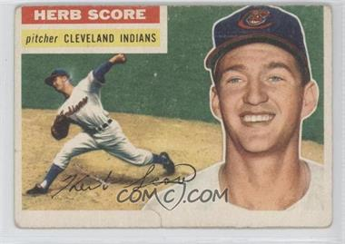 1956 Topps #140.1 - Herb Score (Gray Back)
