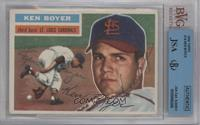Ken Boyer (White Back) [BVG/JSA Certified Auto]