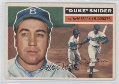 1956 Topps #150 - Duke Snider [GoodtoVG‑EX]
