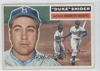 Duke Snider (White Back) [Good to VG‑EX]