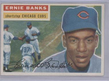 1956 Topps #15WB - Ernie Banks