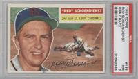 Red Schoendienst (Gray Back) [PSA 7]