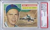 Red Schoendienst (White Back) [PSA 3]