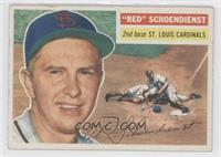 Red Schoendienst (White Back)