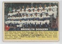 Brooklyn Dodgers Team [Poor to Fair]