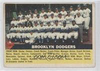 Brooklyn Dodgers Team [Good to VG‑EX]