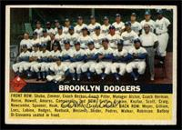 Brooklyn Dodgers Team (grey back) [EX]