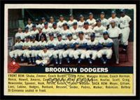 Brooklyn Dodgers Checklist (white back) [EX MT]