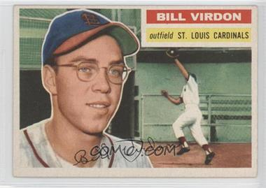 1956 Topps #170.1 - Bill Virdon (Gray Back)