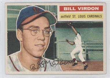 1956 Topps #170.1 - Bill Virdon (grey back)
