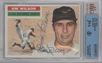 Jim Wilson (White Back) [BVG/JSA Certified Auto]