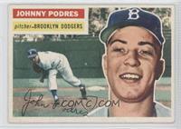 Johnny Podres (grey back)