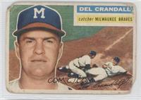 Del Crandall (Gray Back) [Poor]