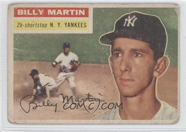 1956 Topps #181 - Billy Martin