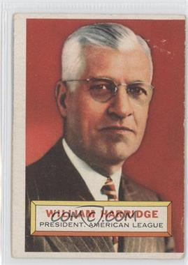1956 Topps #1GB - William Harridge