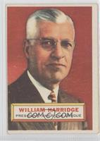 William Harridge [GoodtoVG‑EX]