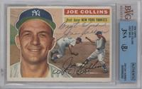 Joe Collins (Gray Back) [BVG/JSA Certified Auto]