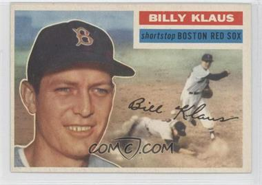 1956 Topps #217 - Billy Klaus