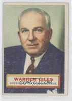 Warren Giles (White Back) [GoodtoVG‑EX]
