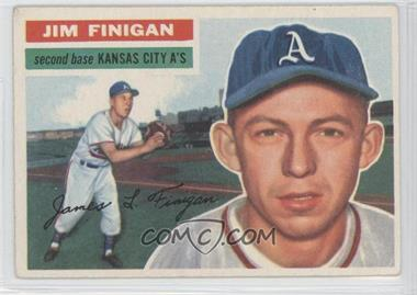1956 Topps #22.1 - Jim Finigan (Gray Back)