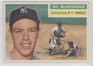 1956 Topps #225 - Gil McDougald