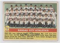 Kansas City Athletics Team [GoodtoVG‑EX]
