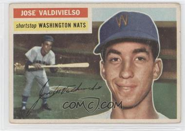 1956 Topps #237 - Jose Valdivielso [Good to VG‑EX]