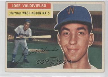 1956 Topps #237 - Jose Valdivielso