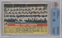 New York Yankees Team [BVG/JSA Certified Auto]