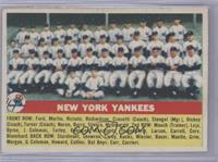 New York Yankees Team