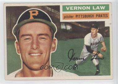1956 Topps #252 - Vern Law