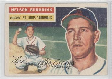 1956 Topps #27 - Nelson Burbrink [Good to VG‑EX]