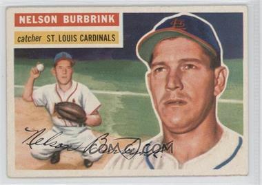 1956 Topps #27.1 - Nelson Burbrink (Gray Back)