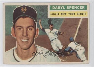 1956 Topps #277 - Daryl Spencer [GoodtoVG‑EX]