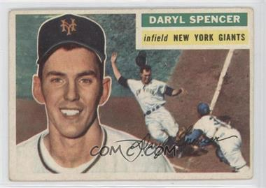 1956 Topps #277 - Daryl Spencer [Good to VG‑EX]