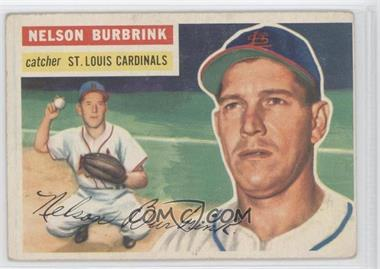 1956 Topps #27GB - Nelson Burbrink [GoodtoVG‑EX]