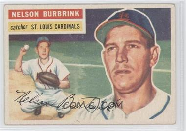 1956 Topps #27WB - Nelson Burbrink [Good to VG‑EX]