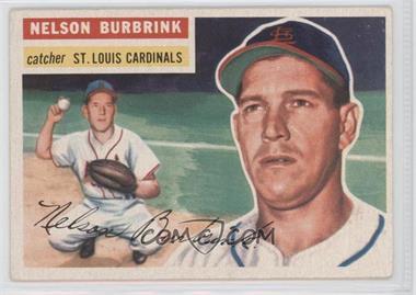1956 Topps #27WB - Nelson Burbrink [GoodtoVG‑EX]
