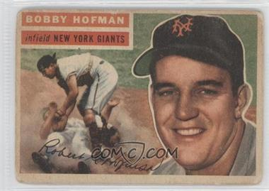 1956 Topps #28 - Bobby Hofman [Good to VG‑EX]